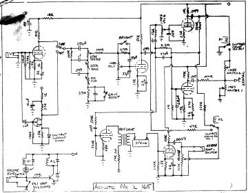 Schematics, Service manual or circuit diagram<br>for Acoustic Control Corp  Schematic £1.80 ($2.30, €2.0)www.thecodemachine.co.uk